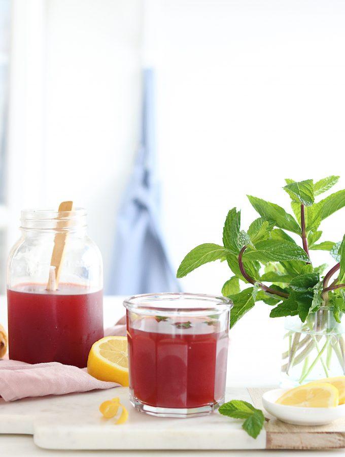 Liver Detox Iced Tea